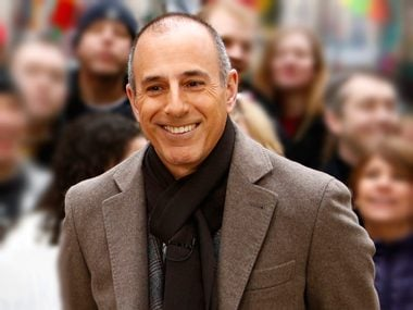 87. Matt Lauer, cohost, TODAY