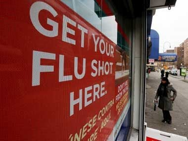 We can give flu shots in most states.