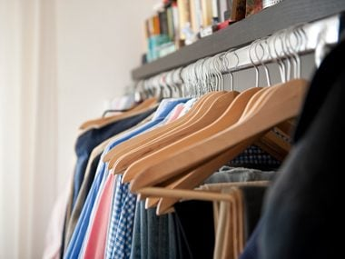 Organize your closets to keep dust to a minimum.