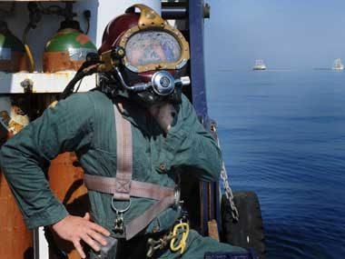 Oil-Rig Dive Technician