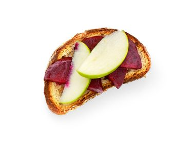 Roasted Red Beets with Granny Smith Apples