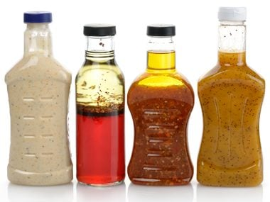 Control the use of your salad dressing
