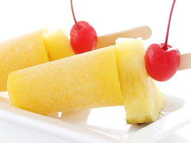 Mango Mai Tai Ice Pops