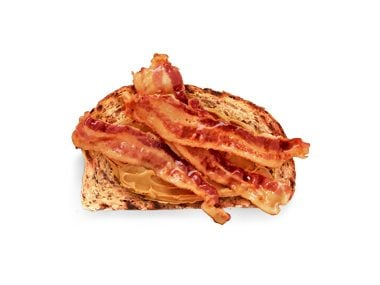 Bacon and peanut butter