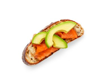 Lox and Avocado