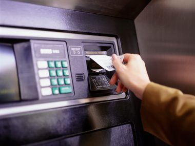 Keep receipts for every ATM transaction.