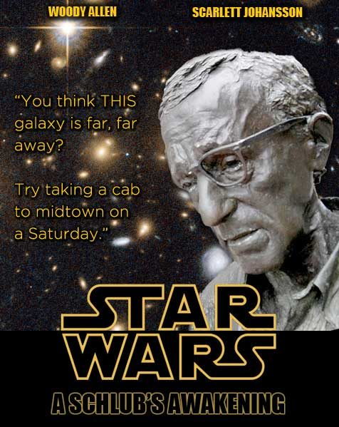 If Woody Allen was the Star Wars Episode VII director