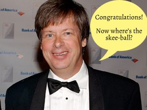 Dave Barry wishes you and your skee-ball table a happy wedding