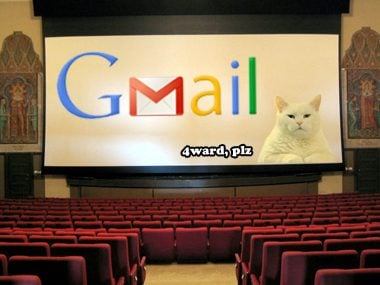 Gmail movie 3D
