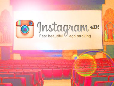 Instagram movie 3D