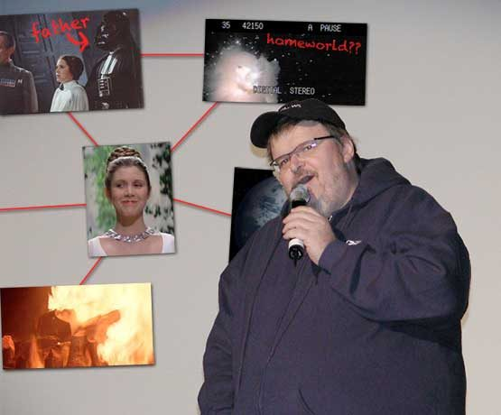 If Michael Moore was the Star Wars Episode VII director