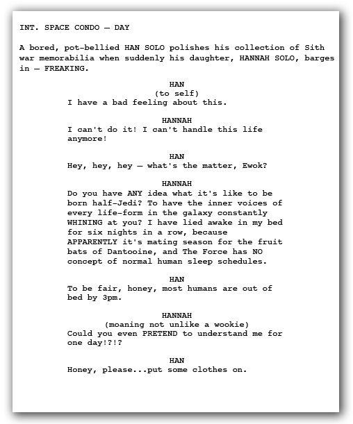If Lena Dunham was the Star Wars Episode VII director