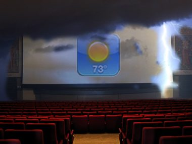 Weather app movie