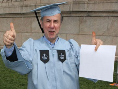 Gac Filipaj: A janitor graduates with honors