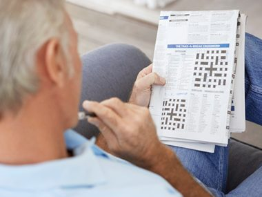 Can a crossword puzzle a day keep dementia away?