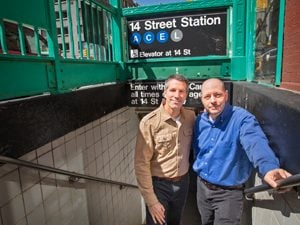 The True Story of Two Men Who Found Fatherhood on the Subway
