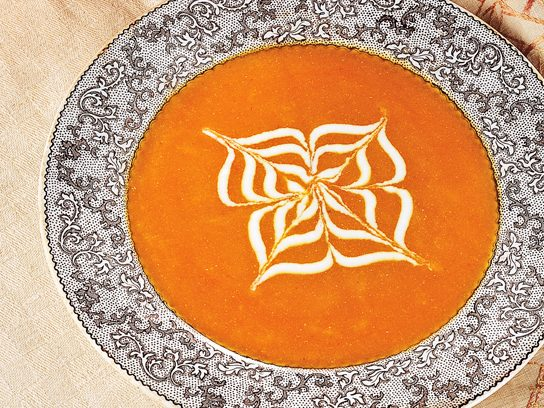 Spicy Ginger Pumpkin Soup Recipe