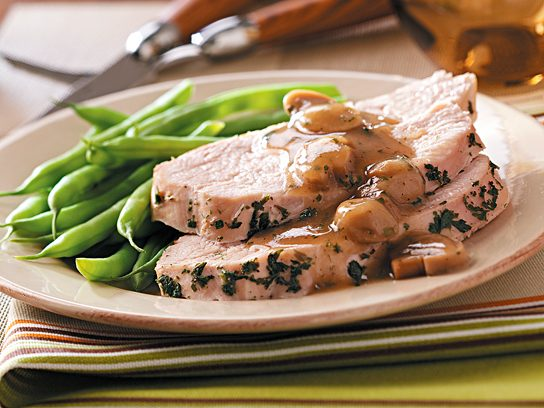 Slow Cooker Turkey with Mushroom Sauce Recipe