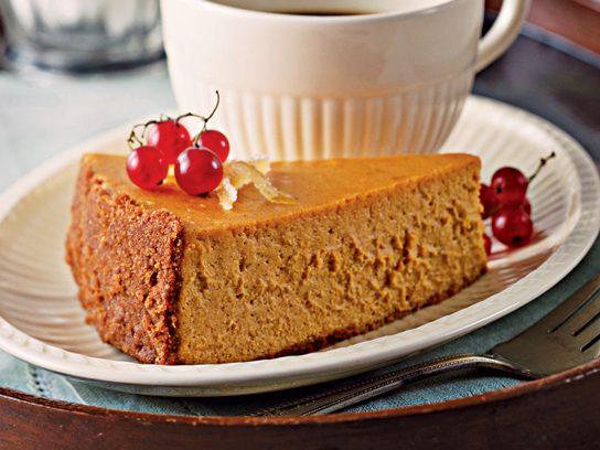Pumpkin Maple Cheesecake Recipe