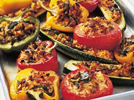 Stuffed Vegetables Recipe