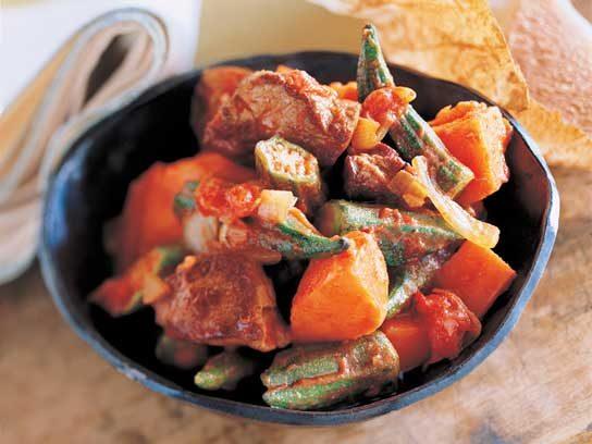 Savory Lamb Stew with Sweet Potatoes Recipe