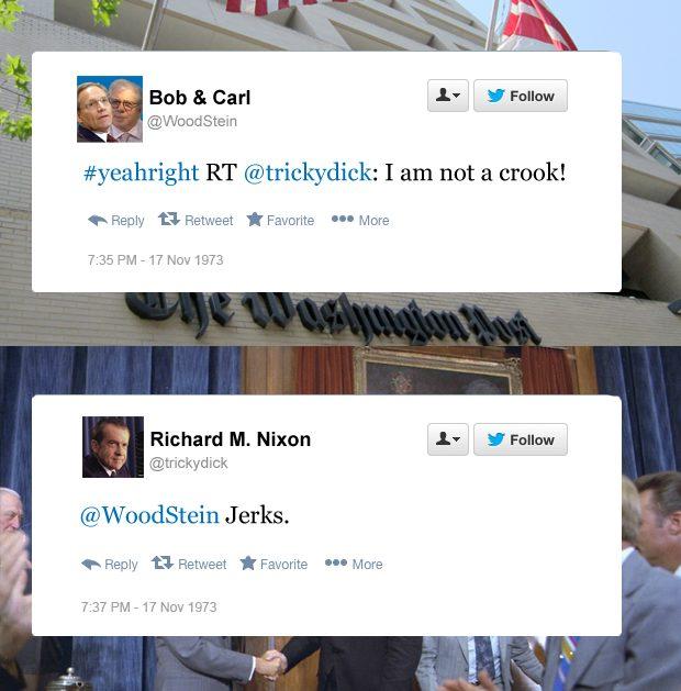 Nixon funny tweets not a crook