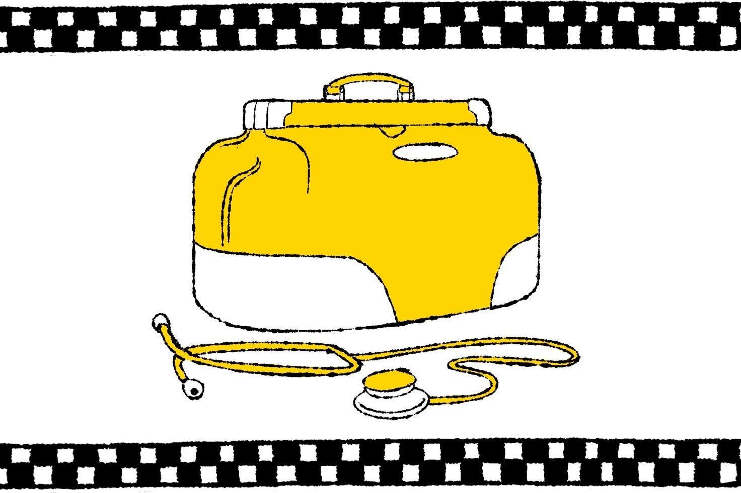 medical bag illustration
