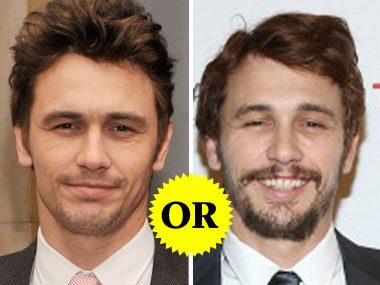 James Franco's Facial Hair