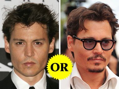 Johnny Depp's Facial Hair