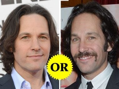 Paul Rudd's Facial Hair
