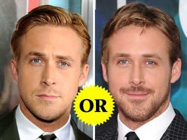 Ryan Gosling's Facial Hair