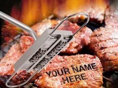 A BBQ Branding Iron