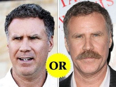 Will Ferrell's Facial Hair