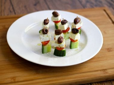 Greek Salad Appetizers
