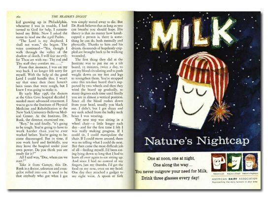 """""""Milk: Nature's Nightcap"""""""