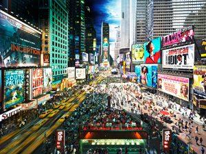 Times Square Time Lapse