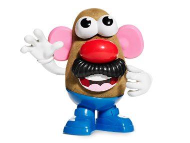 Mr. Potato Head forgot the potato!