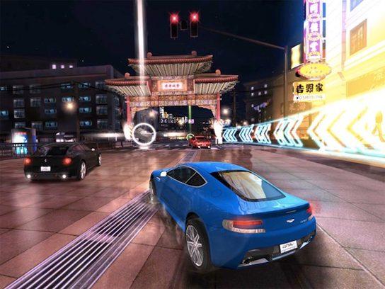 "If you like cars, try: Asphalt 7: Heat (<a href=""http://www.gameloft.com/iphone-games/asphalt-7"">gameloft.com</a>)"