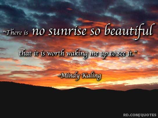 Funny Sleep Quotes Mindy Kaling