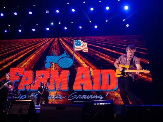 Rock out with Farm Aid.