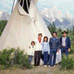 Liz Vaccariello and family
