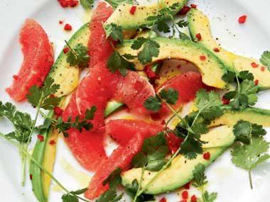 Avocado and Ruby Grapefruit Salad