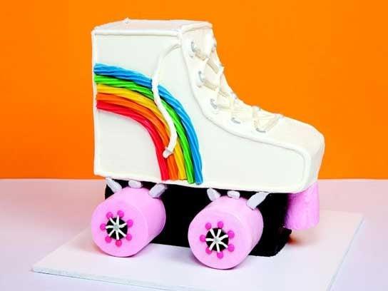 Roller Skakes cake