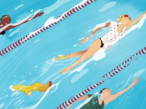 Inspiring Story: Swimming in Socks