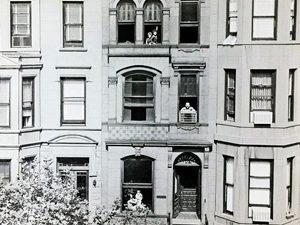 Park Slope brownstone in 1970