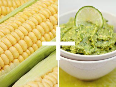 Corn Guacamole Dip
