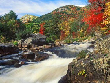 New York: West Branch of the Ausable River in the Adirondack High Peaks
