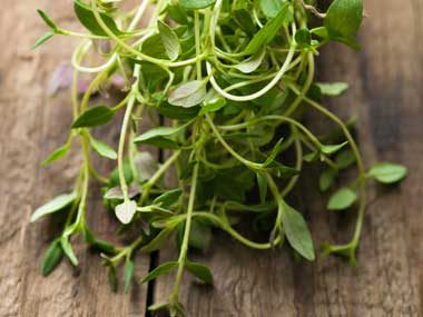Clear Up Athlete's Foot: Thyme Leaves