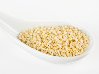 Constipation remedy: Sesame seeds