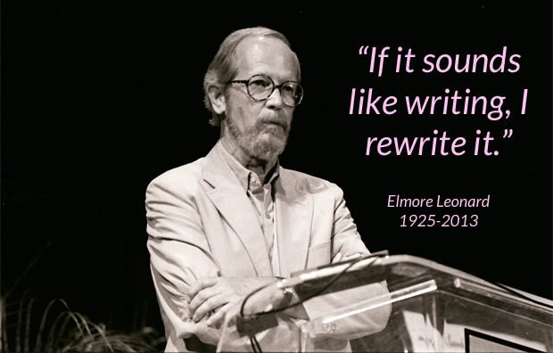 Elmore Leonard reading at Miami Book Fair International, 1989
